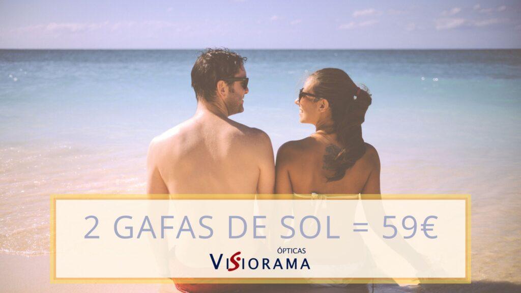 Gafas de sol, 2 x 59€