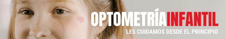 Somos especialistas en Optometría Infantil.